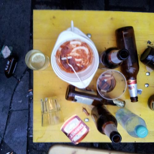 frühstück in LNZ um 5.19