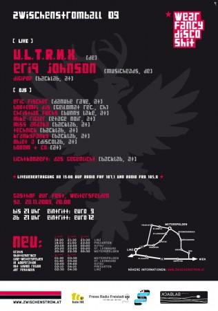 Zwischenstromball 2009 Flyer Back